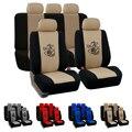 Универсальный чехол для сиденья Dewtreetali с четырьмя сиденьями  защита для автомобильного сиденья  полный комплект автомобильных аксессуаров ...