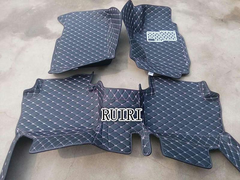 Good mats! Custom special floor mats for Right Hand Drive Toyota Highlander 5 seats 2013-2007 waterproof carpets,Free shipping