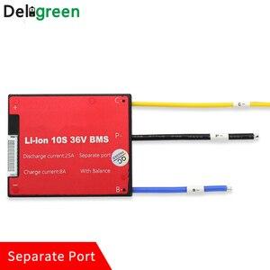 Image 2 - Deligreen 4S25A35A45A60A 12V PCM/PCB/BMS dla 3.2V akumulator litowy LiFePO4 akumulator oddzielny Port