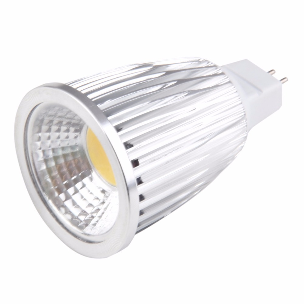 ICOCO MR16 Non-Dimmable LED COB Spot Light Downlight Lamp Bulb 12W Pure/Warm White dimmable gu10 mr16 cob led spot light lamp dc12v ac12v 220v 110v 6w cob led spotlight bulb lamp warm cold white