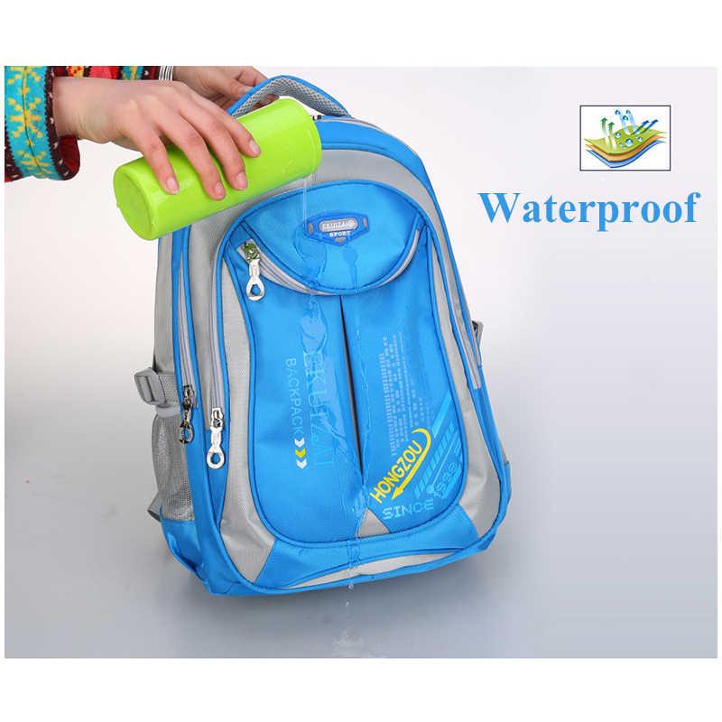 Nueva mochila escolar para estudiantes de escuela primaria mochila para niños niñas bolsa de libro resistente al agua Clase 1-3-6 mochila de gran capacidad