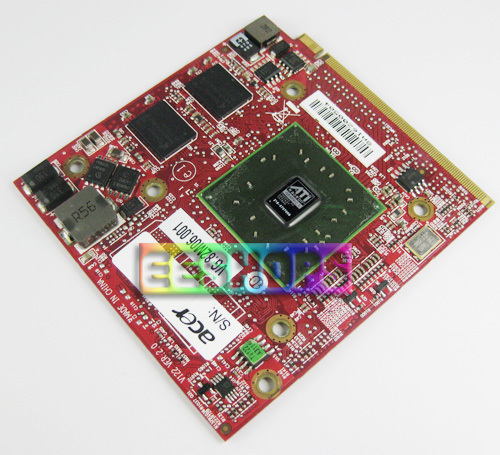 ФОТО for Acer TravelMate 5530 5730 7730 7530 Notebook ATI Radeon HD 3400 3450 3470 DDR2 256MB MXM VGA Graphics Video Card Drive Case