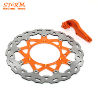 320MM Front Floating Brake Discs and Bracket For KTM SX XC XCW XCFW EXC 125 144 150 200 250 300 350 400 450 500 505 530 SXF125