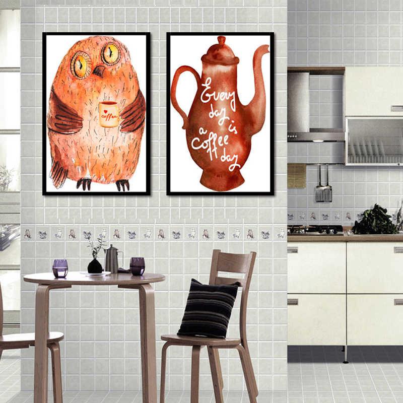 TOP Sale 2 Piecest/Set Cartoon poster series Canvas Painting Sitting Room Decoration Print Canvas Pictures No Framde/8-JDTZKXGT