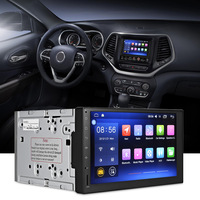 J 3862N Universal Android 6 0 1 Quad Core 7 Inch GPS WiFi DVR Car DVD