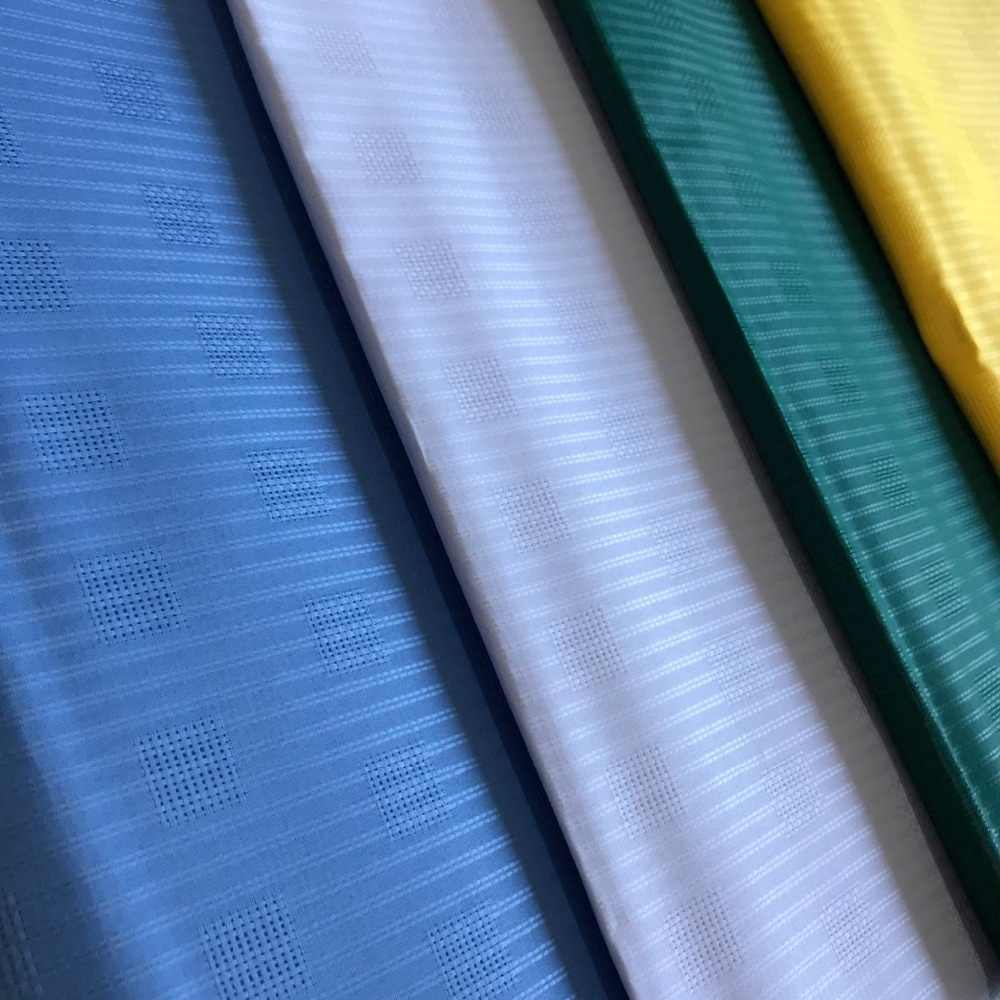 BlackWin الأفريقي النيجيري Atiku النسيج للرجل الدانتيل قماش للملابس لون نقي 100% القطن النسيج في 5 ساحات-J5