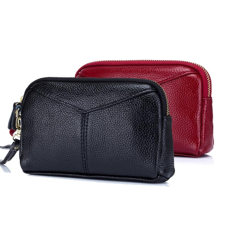 YIFANGZHE Women Multi-purpose leather Clutch Phone Wallet Wristlet Wallets Handbag Zipper Wristlets Wallets Purse for Women