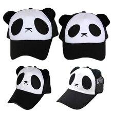 2019 Children Adult Panda Pattern Cartoon Cotton Baseball Cap