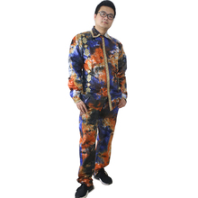 African Tops Long-Sleeve Traditional-South-Africa 2piece-Set MD Men for Shirt Pants Suit