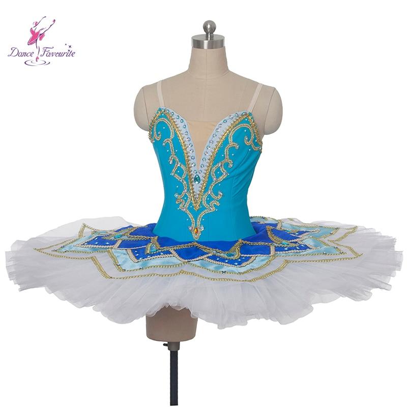 Customer size made New arrival white blue spandex bodice professional ballet tutu girl & women tutu ballerina dance costume tutu