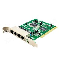 4 Port PCI 10 100 Mbps 100M Fast Ethernet Network LAN Switch Card Board