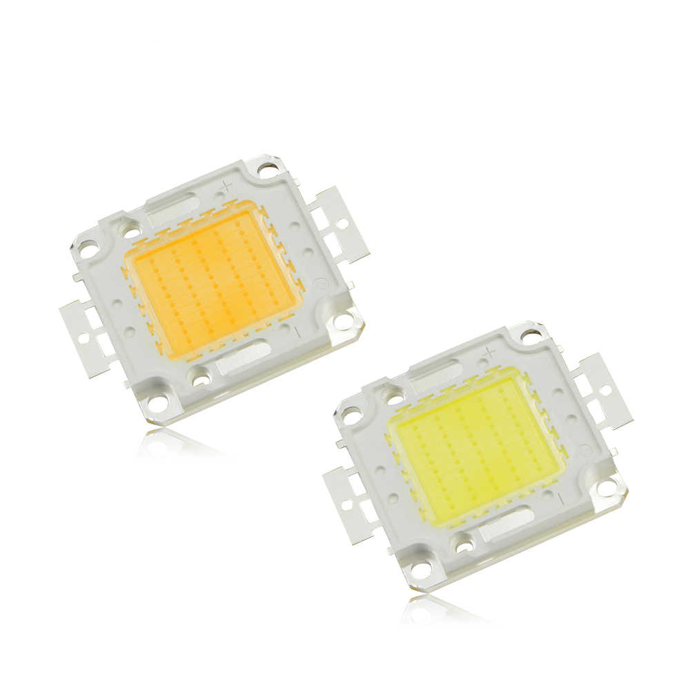 LED Light Chip 100W 50W 30W 20W 10W COB LED Lamp For Floodlight Bulb Spotlight Garden DC 9V 12V 36V Integrated Light Source