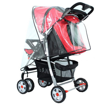 Hot! Baby Stroller Accessories Universal Waterproof Rain Cover Wind Dust Shield Zipper Open For Travel Baby Strollers Pushchairs babyrule baby stroller accessories universal waterproof rain cover wind dust shield for strollers pushchairs stroller buggy
