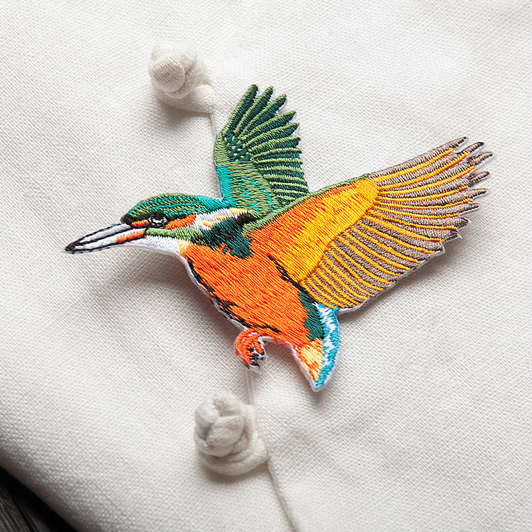 Qepa e qëndisjes së zogjve - Arte, zanate dhe qepje - Foto 5