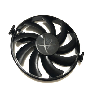 XFX Hard Swap Fans GPU VGA Cooler Cooling Fan FDC10H12S9-C For XFX RX480 RX470 RX580 Video Cards As Replacement