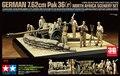 Tamiya 1/35 32408 alemão 7.62 CM PAK 36 ( r ) áfrica do cenário conjunto kits modelo de construção modelo scale