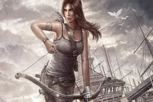 Tomb Raider Lara Croft Reborn PRW153 canvas fabric movie poster custom for wall art room decor home decoration (frame available)