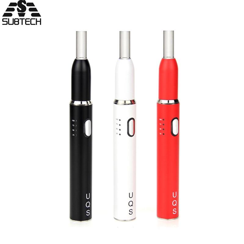 SOUS DEUX UQS cigarette électronique 900 mah Batterie Bâton Kit Bâton Stylo Vaporisateur Pour Chauffage Tabac Cartouche