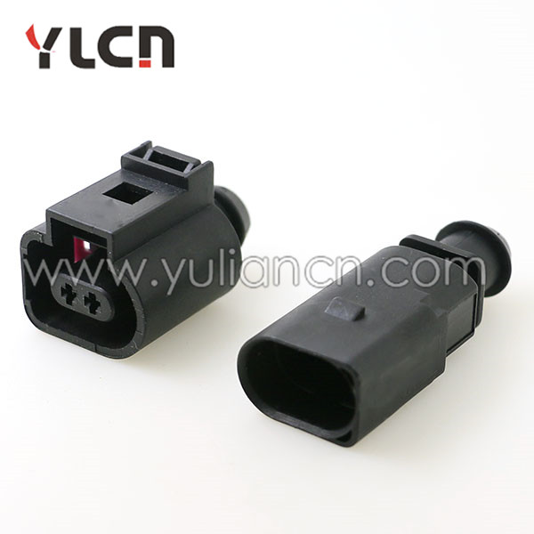 2 pin 1 5mm 1J0973802 1J0973702 Auto Temp sensor plug waterproof electrical wire connector
