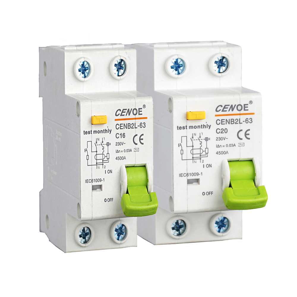 Ce Approvaled Portable Ac Dc Micro Circuit Breaker 16a