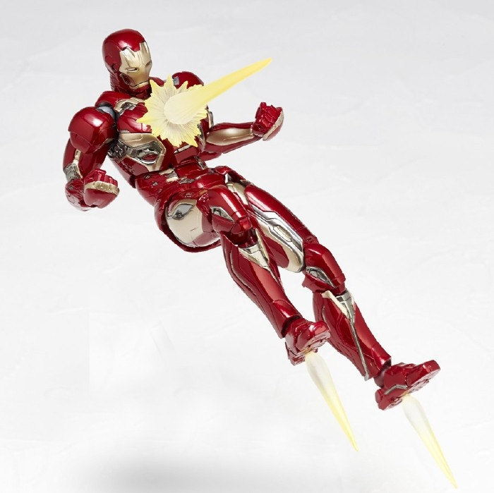 NEW hot 17cm Iron man MK45 Avengers collectors action figure toys Christmas gift doll new hot 17cm avengers ant man black panther movable action figure toys doll collection christmas gift with box
