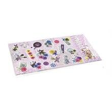 Дешевые 1 шт. цветок животного милый дневник декоративные мини-наклейки Скрапбукинг конфеты три стиля ноутбук канцелярские прекрасные вещи WH13
