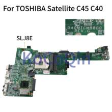 KoCoQin Laptop motherboard For TOSHIBA Satellite C40 C40 A C45 C45 A  HM76 Mainboard DA0MTCMB8G0 REV:G tested