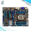 Для Asus P8H77-V Оригинальный Используется Для Рабочего Материнская Плата Для Intel H77 LGA 1155 для нм i3 i5 i7 DDR3 32 Г SATA3 USB3.0 ATX На Продажу