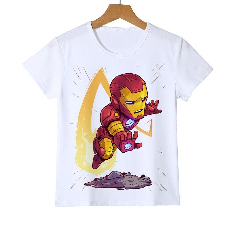 New Comic Shirt Superman America Deadpool/The Flash/Panther T Shirt Cartoon Superhero Kid Baby Boy Girl Iron man T-Shirts Z36-2 2017 new arriva girl t shirt 100