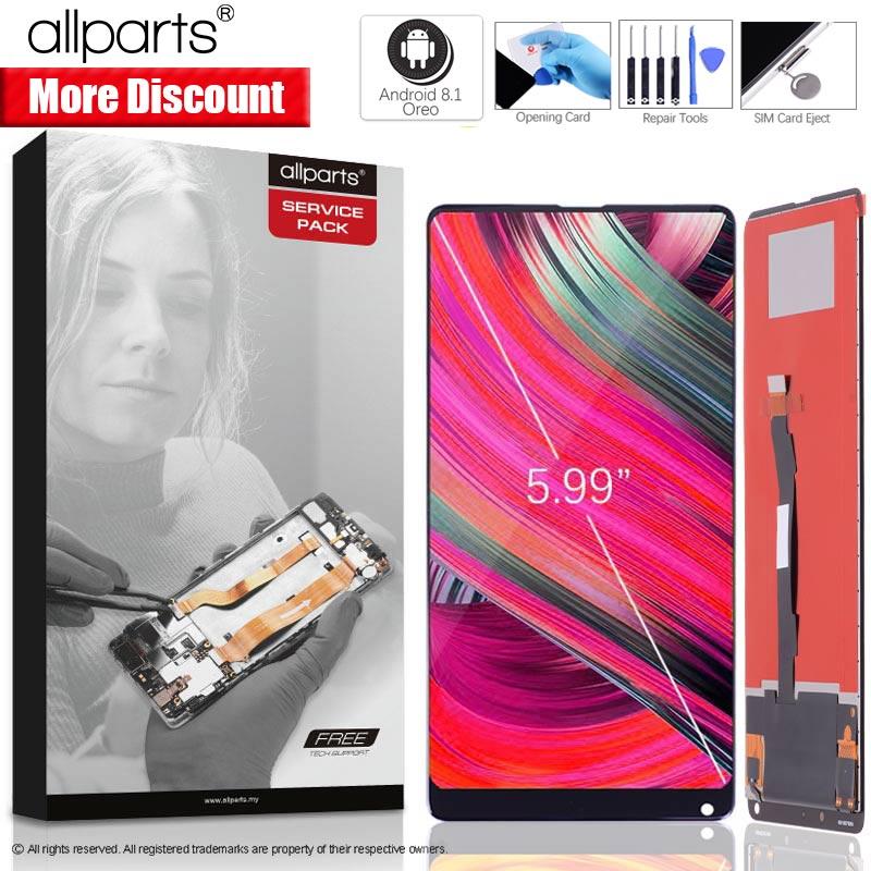 5.99 ips Оригинальный тачскрин дисплей экран для XIAOMI Mix 2 сенсорный дисплей Оригинал LCD с тачскрином в рамке замена запчасти MI MIX 2 Черный белый