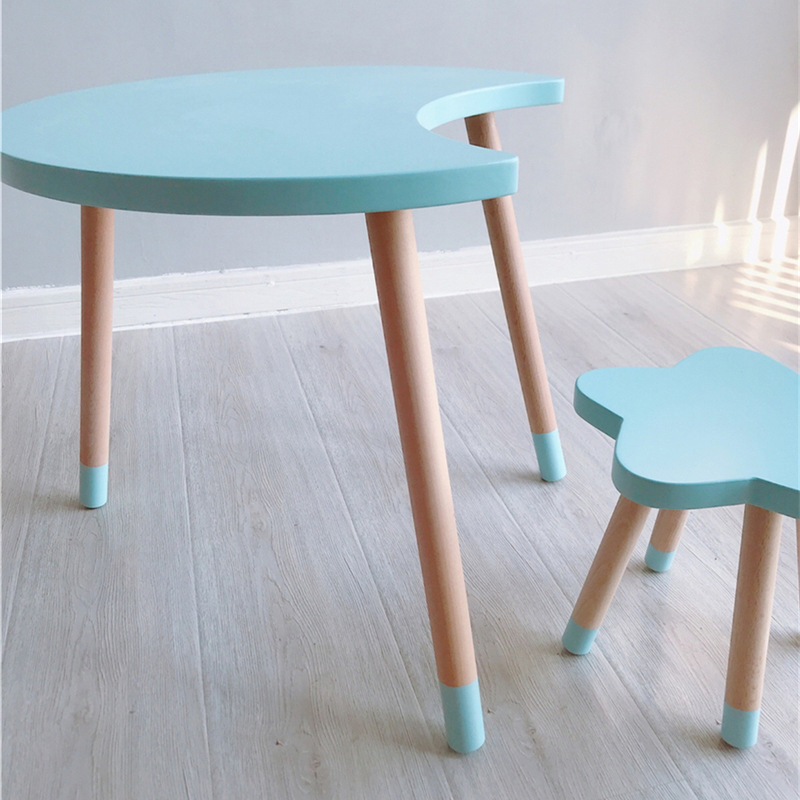 Incredible Us 305 96 40 Off Nordic Style Kids Room Furniture Kids Table And Chair Childrens Room Decoration Study Table Nursery Decor In Children Furniture Caraccident5 Cool Chair Designs And Ideas Caraccident5Info