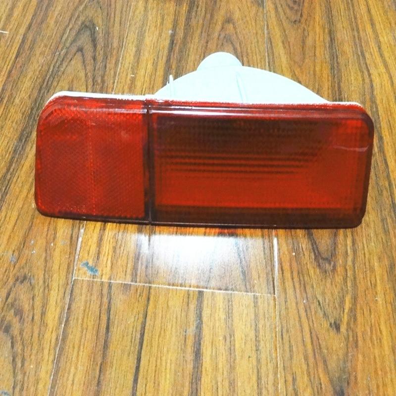 ФОТО 1PCS RH Side OEM Rear Bumper Red Fog Light Lamp Back Without Bulbs for Mitsubishi outlander 2003-2006