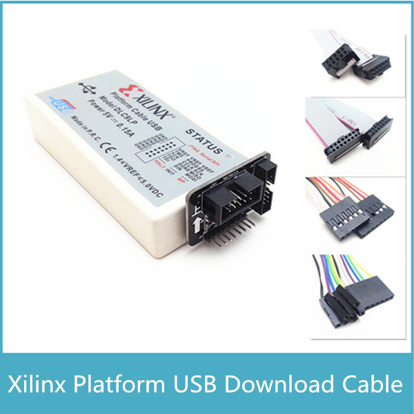 Xilinx Platform Cable USB Download Cable Jtag Programmer For FPGA CPLD CY7C68013A