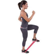 цена Yoga Elastic Tension Resistance Band Pilates Gym Strength Loops Natural Rubber Sports Pull up Workout Latex Exercise Crossfit онлайн в 2017 году