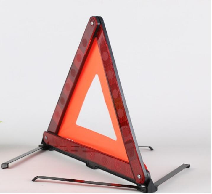 Car Warning Sign Auto Triangle Reflective Emergency Fault Safety Tripod Stop Parking Signs Folded Traffic Road Warning