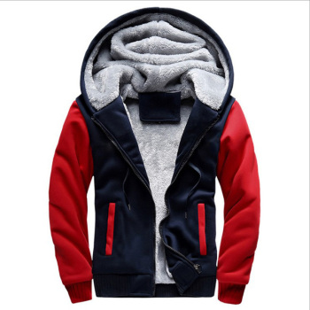 2020 New Men Hoodies Winter Warm Zipper Men Hoodies  2