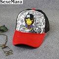 2017 Esponja en-estilo de moda gorra de béisbol edición popular skullies sombreros calientes