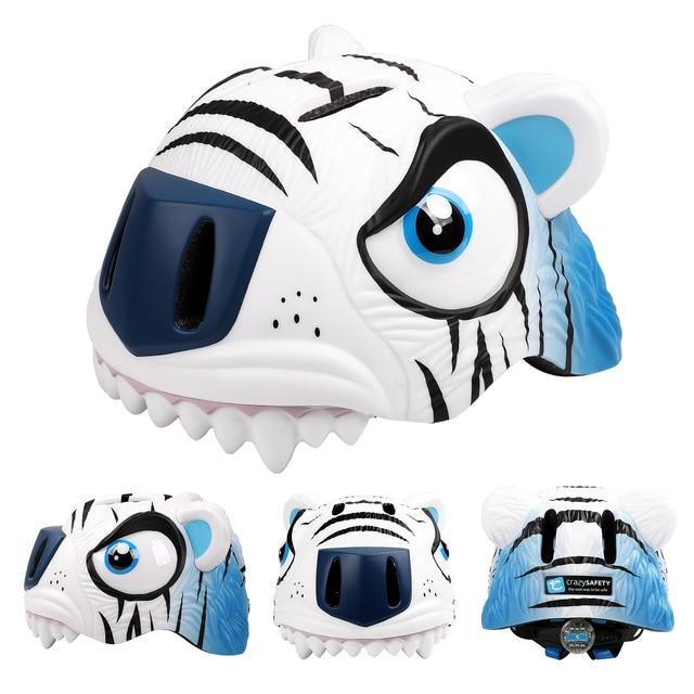 Kids Bike Helmet Ultralight Adjustable 3-8 Years Cycling 3D Cartoon Animal  Safe Kids Bicycle Helmet