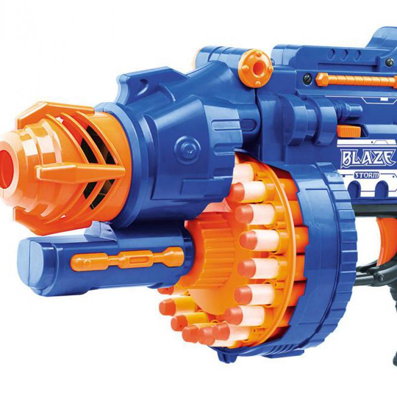 Pistolets à jouets électriques en plastique souple élastique tiré des balles pour combattre 20 rafales de Sniper Parent-enfant champ pistolet jouets pour enfants