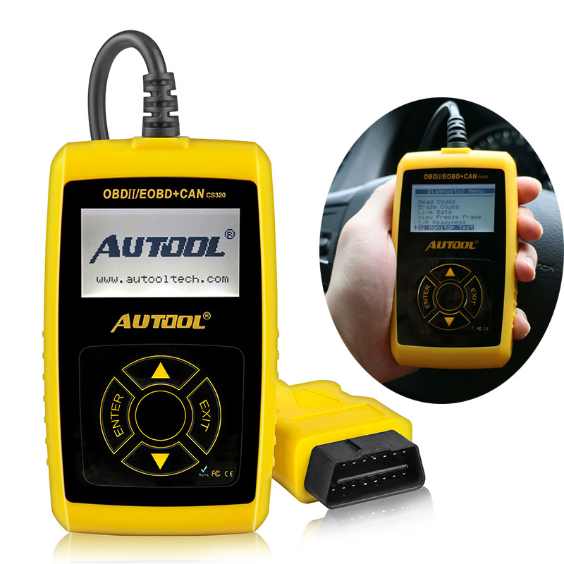 CS320 OBD2 Voiture Automobile Scanner Universel OBD 2 II Code Lecteurs et Lecteur De Voiture Auto Outil De Diagnostic Lancement X431elm327 Scan outils