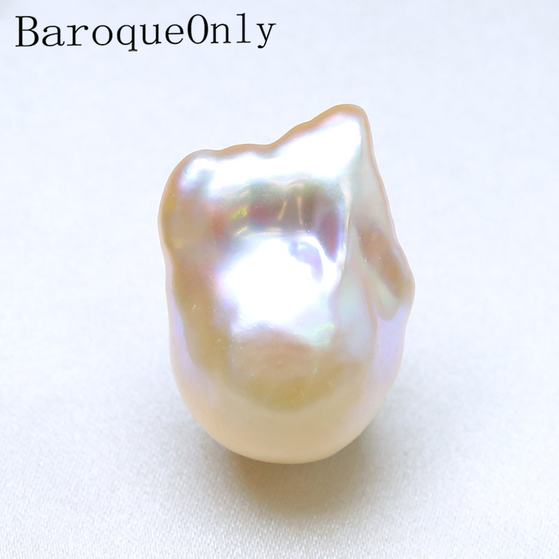 BaroqueOnly Natural mixed colour Freshwater Baroque Pearls Naked Beads For DIY Necklace PENDANT NECKLACE Jewelry Making