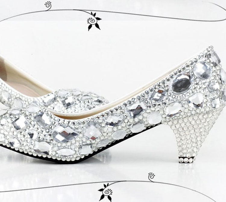 Online Buy Wholesale 2 silver heels from China 2 silver heels