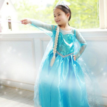 Funny Girl Dress Lace Sequins Princess Halloween Christmas Party Role-play Costume Clothes