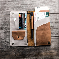 2018 Passport Cover Real Cow Genuine Leather Driver License Bag Car Document Credit Card Holder Purse Wallet Case for Men Women
