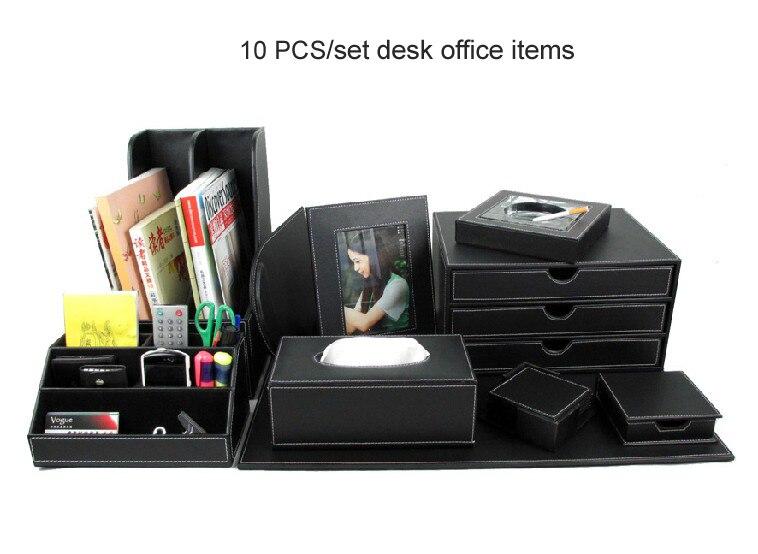 Popular Leather Desk Accessories Buy Cheap Leather Desk