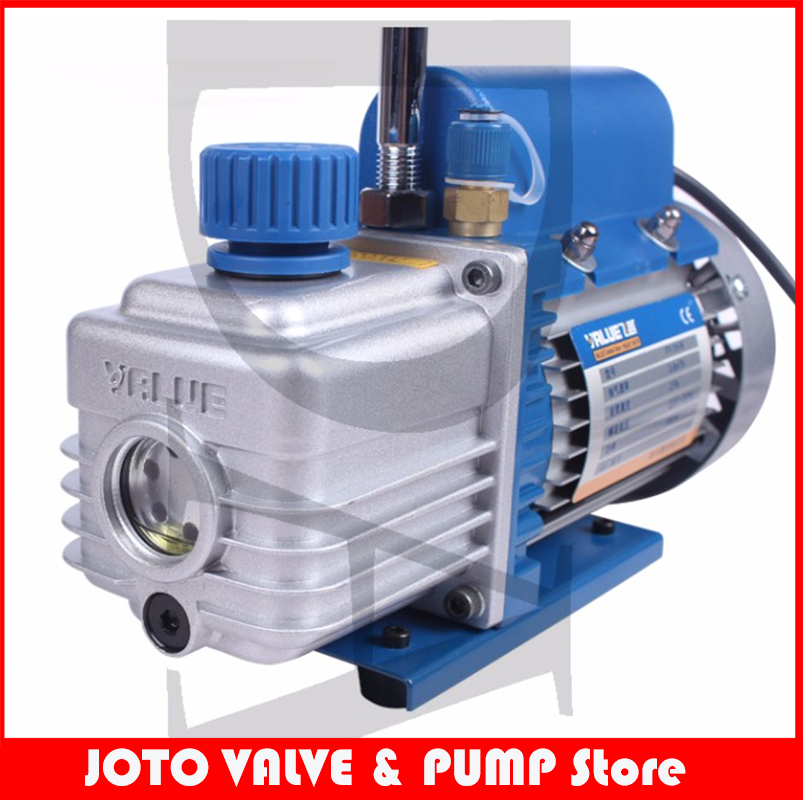 2017 Rushed Limited Low Pressure Electric Single-stage Pump 1l Rotary Vane Single Stage Mini Vacuum Pump For Air Conditioning tw 4a single stage 4 l rotary vane type portable vacuum pump with a single stage