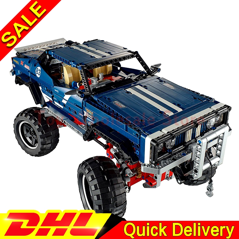 LEPIN 20011 technic series Super classic limited edition of off-road vehicles Building Blocks Bricks lepins Toys Clone 41999 lepin 20011 technic series remote control electric off road vehicles set diy model car building kits blocks bricks children toys