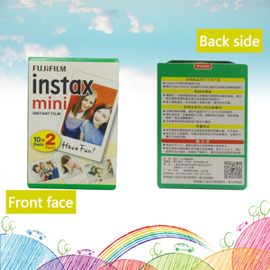Image 2 - Original new packing mini instax film 20   100 sheet 3 inchesWhite Edge Photo For Instax 9 7s 8 90 25 55 Share SP 1 mini9 Camera