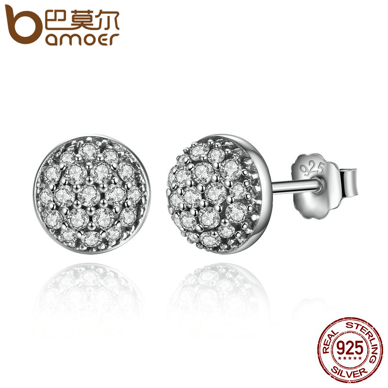 Bamoer Delicate 100 925 Sterling Silver Dazzling Droplets