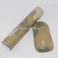 1.52*28m Car Stickers Desert Camo Wraps Auto Body Camouflage Vinyl